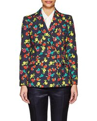 Thom Browne - Floral Cotton Double-breasted Blazer - Lyst