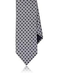 Barneys New York - Dotted Silk Satin Necktie - Lyst