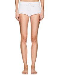Skin - Raffaela Organic Pima Cotton Drawstring Shorts - Lyst