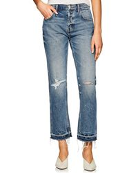 Current/Elliott - The Throwback Original Straight Jeans - Lyst