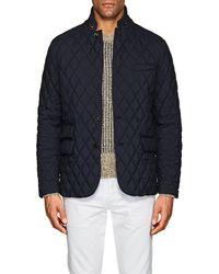 Ralph Lauren Purple Label - Devon Quilted Tech Sportcoat - Lyst