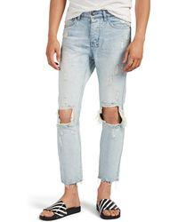 Ksubi Chitch Chop Distressed Slim Jeans