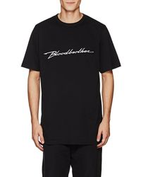 Blood Brother - Performance Cotton T-shirt - Lyst