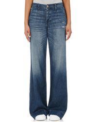 NSF - Hepburn Wide-leg Jeans - Lyst