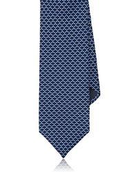 Barneys New York - Chain-link Silk Satin Necktie - Lyst