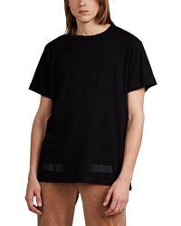 Off-White c/o Virgil Abloh - Logo-box Fine-gauge Cotton T-shirt - Lyst