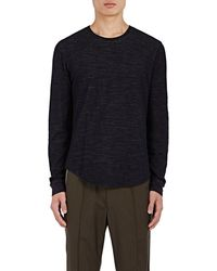 Vince - Double-faced Cotton-wool T-shirt - Lyst