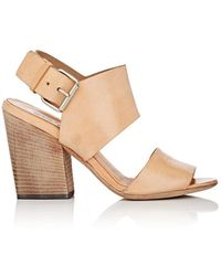 Marsèll - Leather Double-band Sandals - Lyst