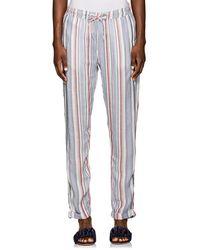 Onia - Ella Striped Drawstring Pants - Lyst