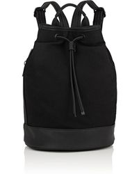 Barneys New York - Canvas Backpack - Lyst