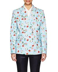 Thom Browne | Floral Cotton Double | Lyst