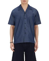 FDMTL - Cotton-blend Short-sleeve Shirt - Lyst