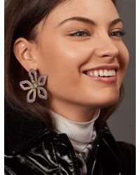 BaubleBar - Primina Flower Drop Earrings - Lyst