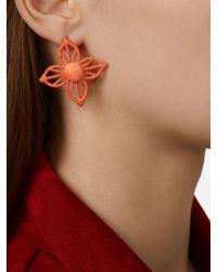 BaubleBar - Sierra Raffia Stud Earrings - Lyst