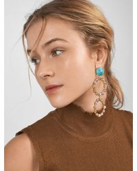 BaubleBar - Go Big Or Go Home Hoop Earrings - Lyst
