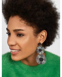 BaubleBar - Large Mariette Fringe Drop Earrings - Lyst