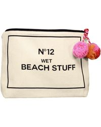 BaubleBar - My Wet Beach Stuff Bikini Bag - Lyst