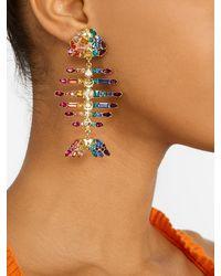 BaubleBar Rainbow Fish Drop Earrings