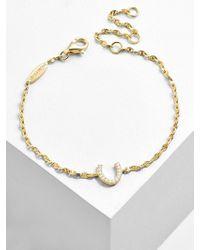 BaubleBar - Fortuna 18k Gold Plated Bracelet - Lyst