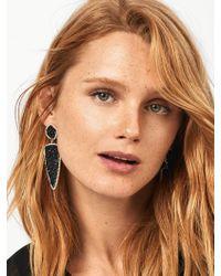 BaubleBar | Moonbeam Druzy Drop Earrings | Lyst