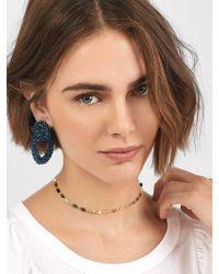 BaubleBar - Emlyn Hoop Earrings - Lyst