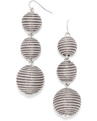 BaubleBar - Concordia Crispin Ball Drop Earrings - Lyst