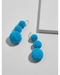 BaubleBar - Pom Pom Crispin Ball Drop Earrings - Lyst