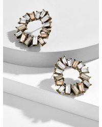 BaubleBar - Sennett Hoop Earrings - Lyst
