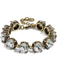 BaubleBar - Caprice Glass Bracelet - Lyst