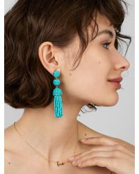 BaubleBar - Mini Granita Tassel Earrings - Lyst