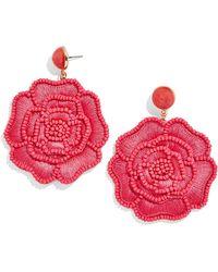 BaubleBar - Melvina Flower Drop Earrings - Lyst