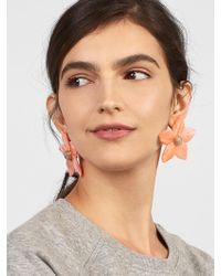 BaubleBar - Adelissa Flower Resin Earrings - Lyst
