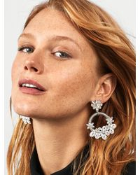 BaubleBar - Snowflower Drop Earrings - Lyst