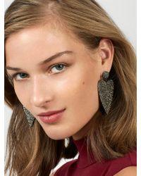 BaubleBar - Harmony Heart Drop Earrings - Lyst