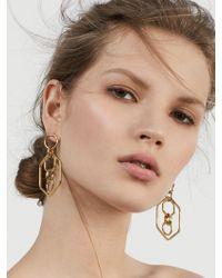 BaubleBar | Stephania Hoop Earrings | Lyst