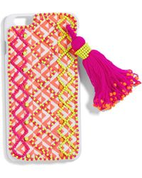 BaubleBar - Neon Tassel Iphone Case - Lyst