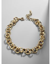 BaubleBar - Maryelle Linked Statement Necklace - Lyst