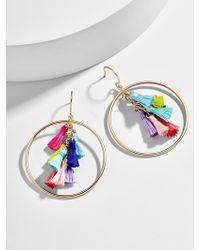 BaubleBar - Primina Hoop Earrings - Lyst