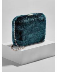 BaubleBar - Faux Fur Crossbody Bag - Lyst