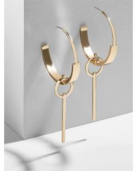 BaubleBar - Cleotha Hoop Earrings - Lyst