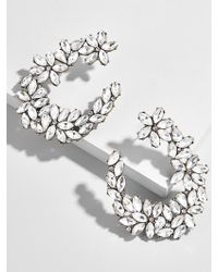 BaubleBar - Evolet Hoop Earrings - Lyst