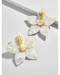BaubleBar - Amariella Flower Stud Resin Earrings - Lyst