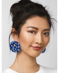 BaubleBar - Macaria Hoop Earrings - Lyst