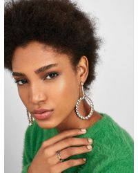 BaubleBar - Angelyn Hoop Earrings - Lyst