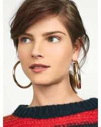 BaubleBar - Penelope Hoop Earrings - Lyst