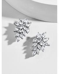 BaubleBar - Abilena Cubic Zirconia Stud Earrings - Lyst