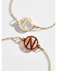 BaubleBar - Modern Acrylic Initial Bracelet - Lyst