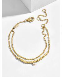 BaubleBar - Pepita 18k Gold Plated Bracelet - Lyst