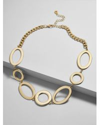 BaubleBar - Romona Linked Statement Necklace - Lyst