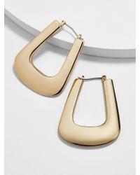BaubleBar - Pavlina Hoop Earrings - Lyst